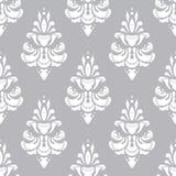 Wit en grijs vectorpatroon Behangachtergrond voor uitnodigingen, groetkaarten, Web-pagina naadloos royalty-vrije stock afbeeldingen