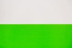 Wit en groen voor achtergrond Stock Fotografie