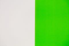 Wit en groen voor achtergrond Stock Foto