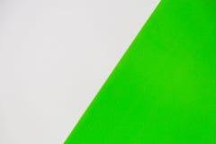 Wit en groen voor achtergrond Stock Foto's