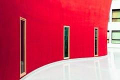Wit en rood Stock Afbeeldingen