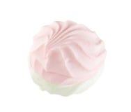 Wit en roze zefier Stock Afbeeldingen