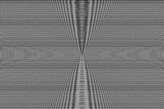 Wit en zwart hypnotic optische illusiepatroon abstracte achtergrond Zwart-wit glitch effect textuur vector illustratie