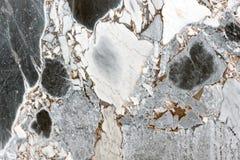 Wit en zwart marmeren abstract patroon als achtergrond Royalty-vrije Stock Afbeelding