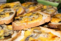Wit Gekruid brood Stock Foto