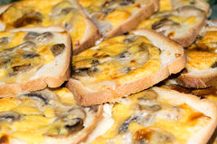 Wit Gekruid brood Stock Fotografie
