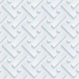 Wit geperforeerd document Royalty-vrije Stock Afbeelding