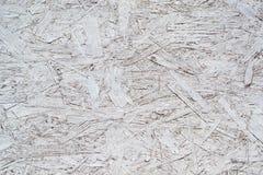 Wit geschilderd triplex royalty-vrije stock foto