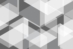 Wit Grey Geomatric Abstract Background Vector Illustratie