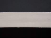 Wit of grijs lint Stock Foto's