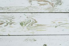 Wit-groene houten achtergrond stock foto