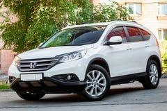 Wit Honda CRV stock foto's