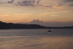 Świt - Hong Kong wyspy wschód Fotografia Stock