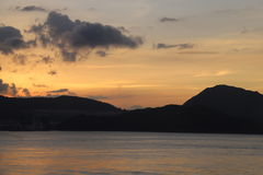 Świt - Hong Kong wyspy wschód Obraz Royalty Free