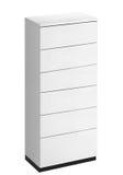 Wit houten ladenkabinet Royalty-vrije Stock Afbeeldingen