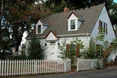 Wit huis Stock Afbeeldingen