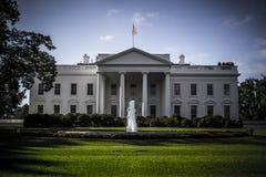 Wit huis Stock Fotografie