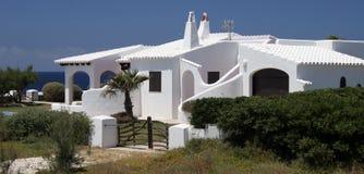 Wit huis Royalty-vrije Stock Afbeelding