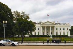 Wit Huisoriëntatiepunt in Washington DC stock afbeelding