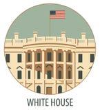 Wit huisWashington DC Royalty-vrije Stock Foto