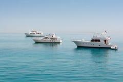 Wit Jacht Royalty-vrije Stock Afbeeldingen