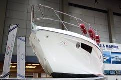 Wit jacht Stock Foto
