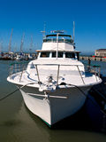 Wit jacht Royalty-vrije Stock Foto