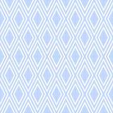 Wit kant met geometrisch naadloos patroon op netto achtergrond Royalty-vrije Stock Foto's