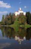 Wit kasteel stock foto
