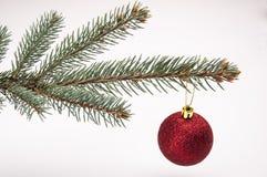 Wit Kerstmisthema met giften Royalty-vrije Stock Afbeeldingen