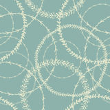 Wit kroon cirkel naadloos patroon Watercirkels geïnspireerd patroon Royalty-vrije Stock Foto