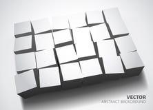 Wit malplaatje als achtergrond Stock Afbeelding
