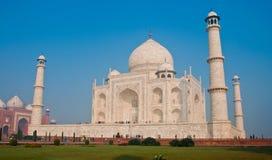 Wit marmeren Taj Mahal Royalty-vrije Stock Foto