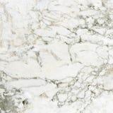 Wit marmeren textuur abstract patroon als achtergrond Royalty-vrije Stock Fotografie