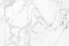 Wit marmeren textuur abstract patroon als achtergrond Stock Fotografie