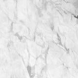 Wit marmeren textuur abstract patroon als achtergrond met hoge resol Stock Afbeeldingen