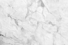 Wit marmeren textuur abstract patroon als achtergrond met hoge resol Royalty-vrije Stock Foto