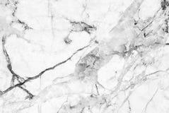 Wit marmeren textuur abstract patroon als achtergrond met hoge resolutie Royalty-vrije Stock Afbeeldingen
