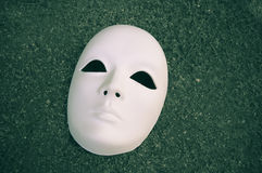 Wit masker Stock Fotografie