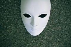 Wit masker Stock Afbeeldingen