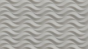 Wit naadloos golvend van de steentextuur patroon als achtergrond Van de de gipspleister de naadloze golvende textuur van het gips Royalty-vrije Stock Foto