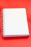 Wit notitieboekje Royalty-vrije Stock Afbeelding