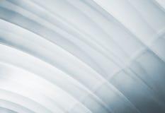 Wit overspannen plafond met zachte verlichting Stock Foto's