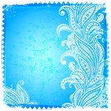 Wit Paisley frame Royalty-vrije Stock Fotografie
