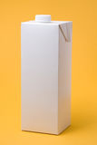 Wit pakketmodel Royalty-vrije Stock Afbeelding