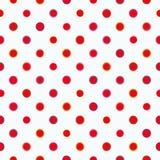 Wit patroon met stippen stock illustratie