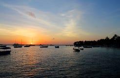 ?wit przy morzem w republice dominika?skiej zdjęcia stock