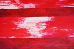 Wit in rood stock afbeeldingen