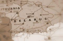 Wit-Rusland, als Wit Rusland ook wordt bekend dat Stock Afbeelding