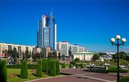 Wit-Rusland, Minsk, architectuur stock fotografie